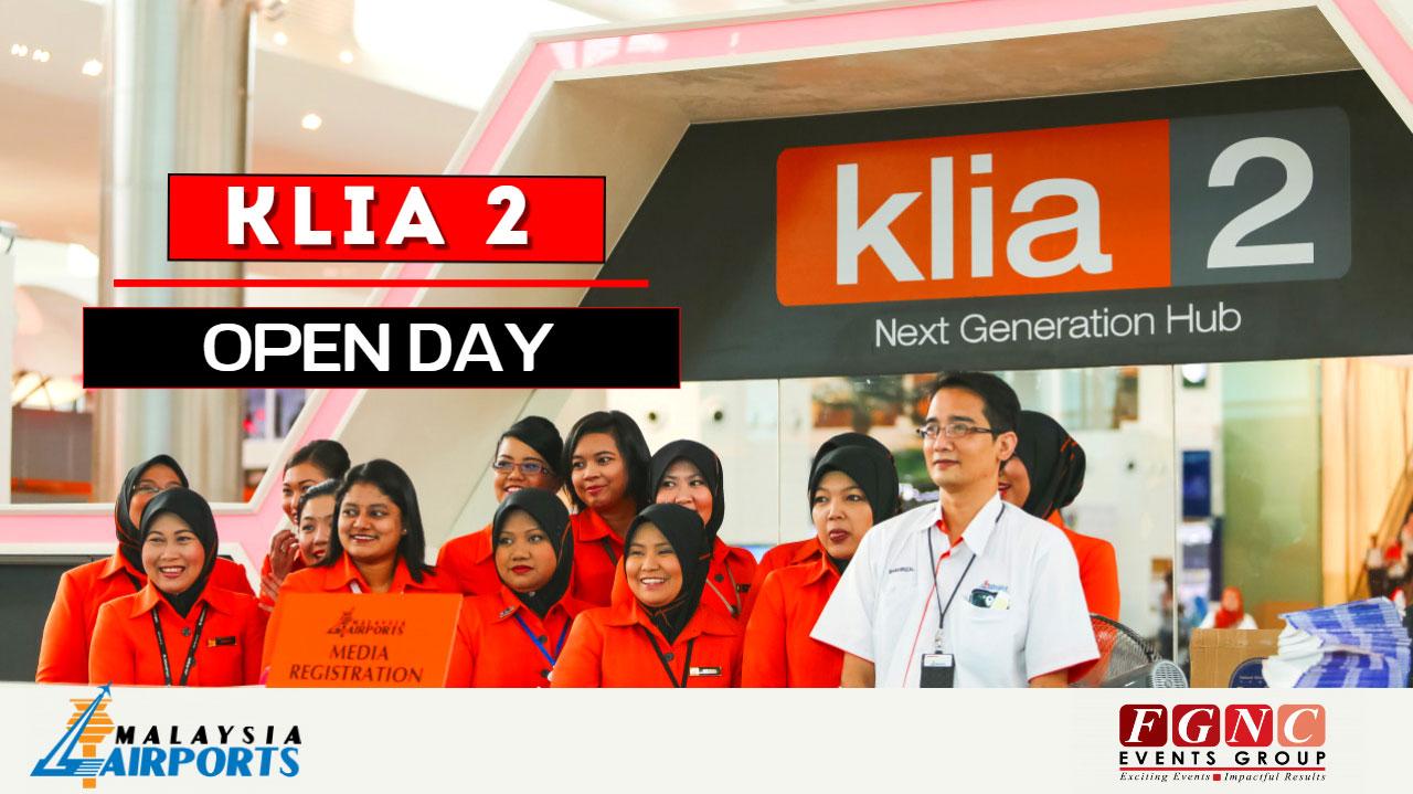 KLIA 2 Open Day Launch FGNC