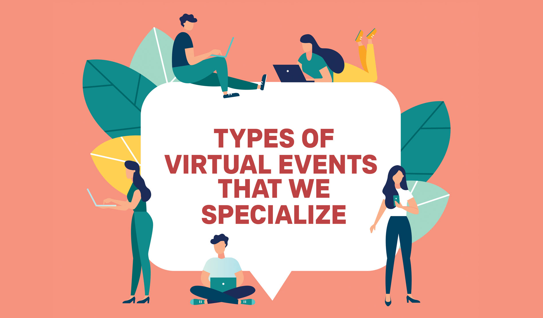 Types of virtual events that we specialise