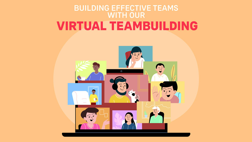 Building effective teams with our virtual teambuilding