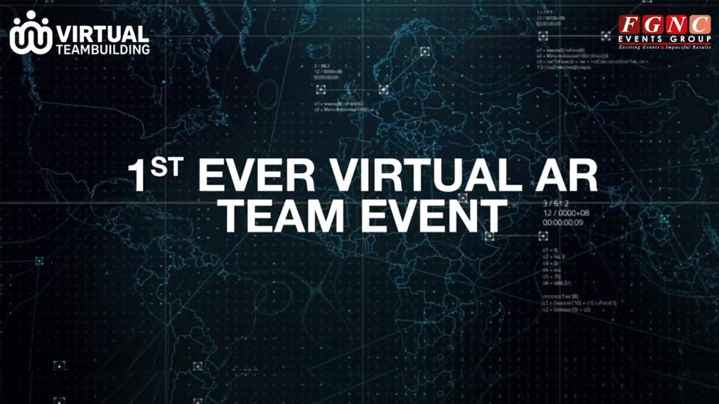1st ever virtual AR team event