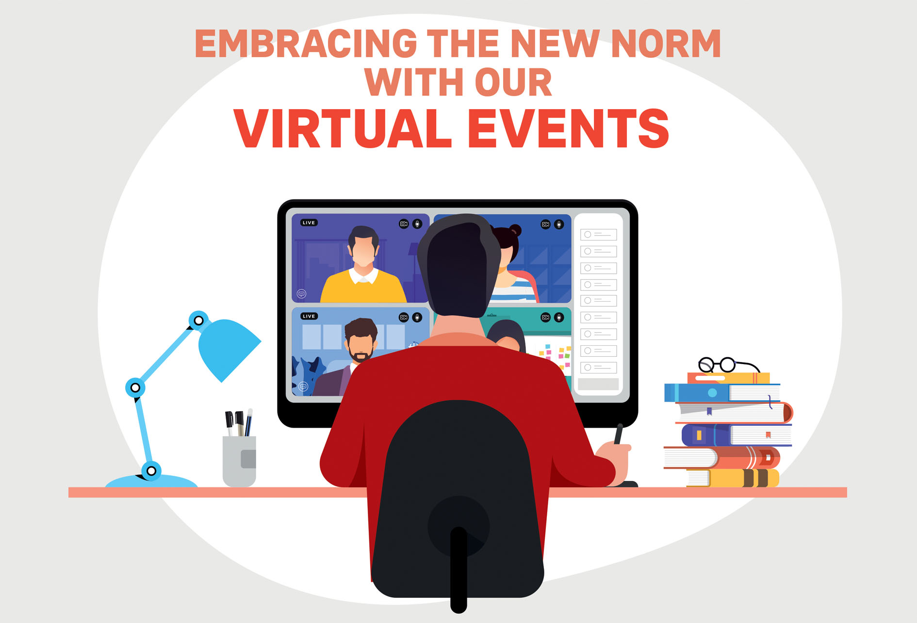 Embracing the new norm with our virtual events
