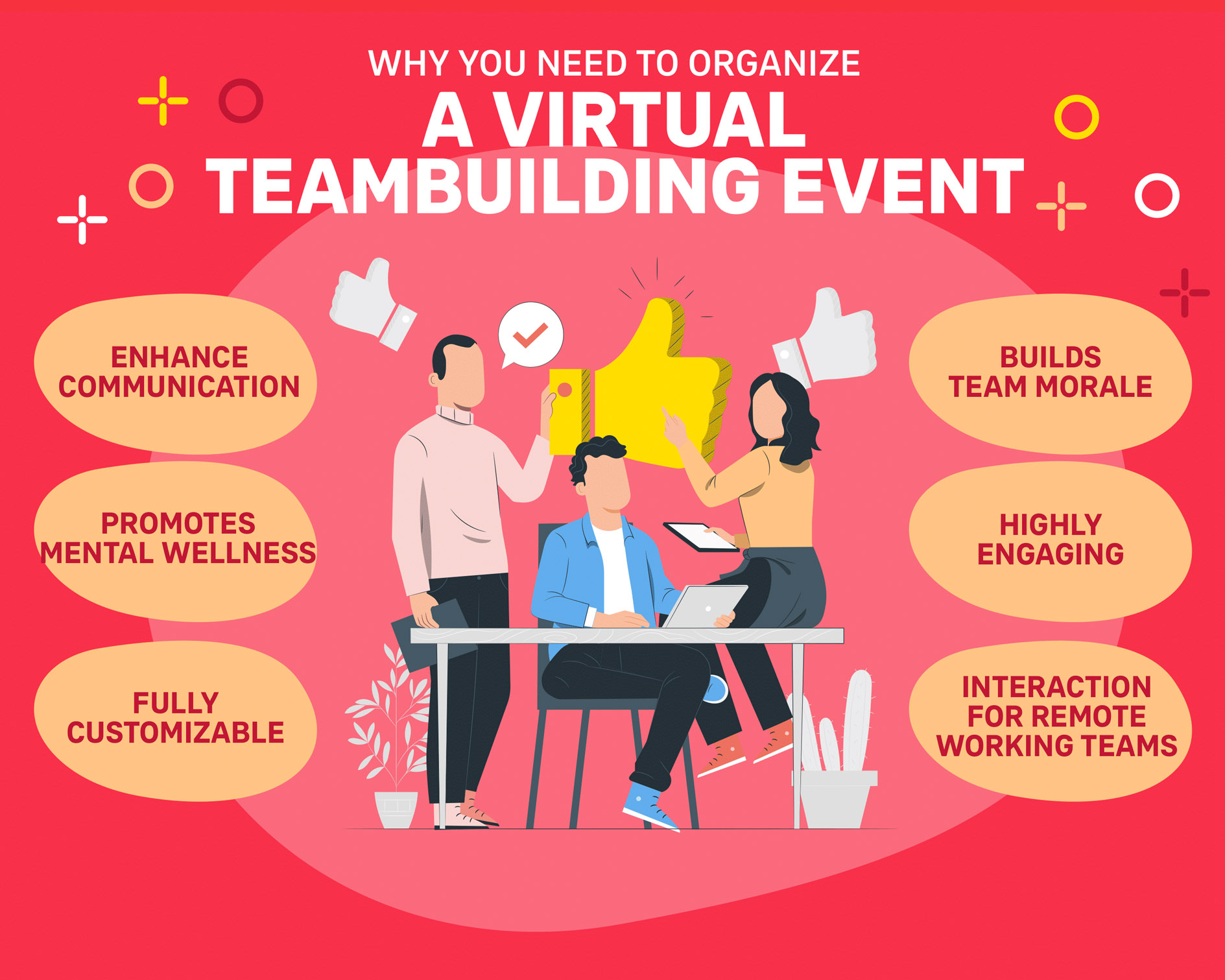 Why you need to organise a virtual teambuilding